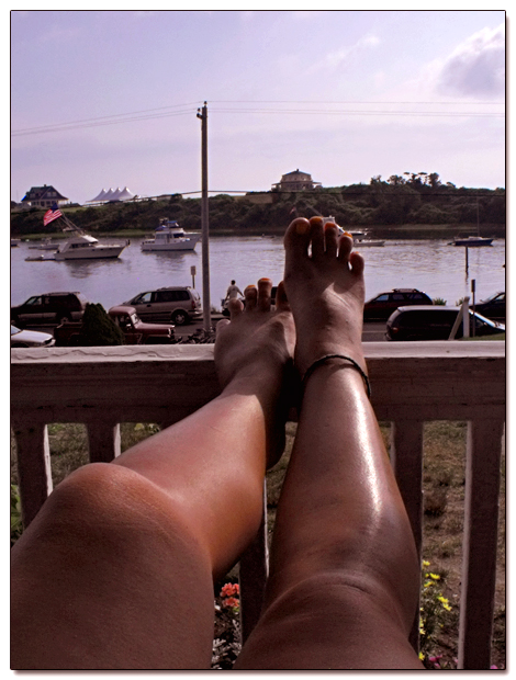 Put your feet up and stay a while on Block Island