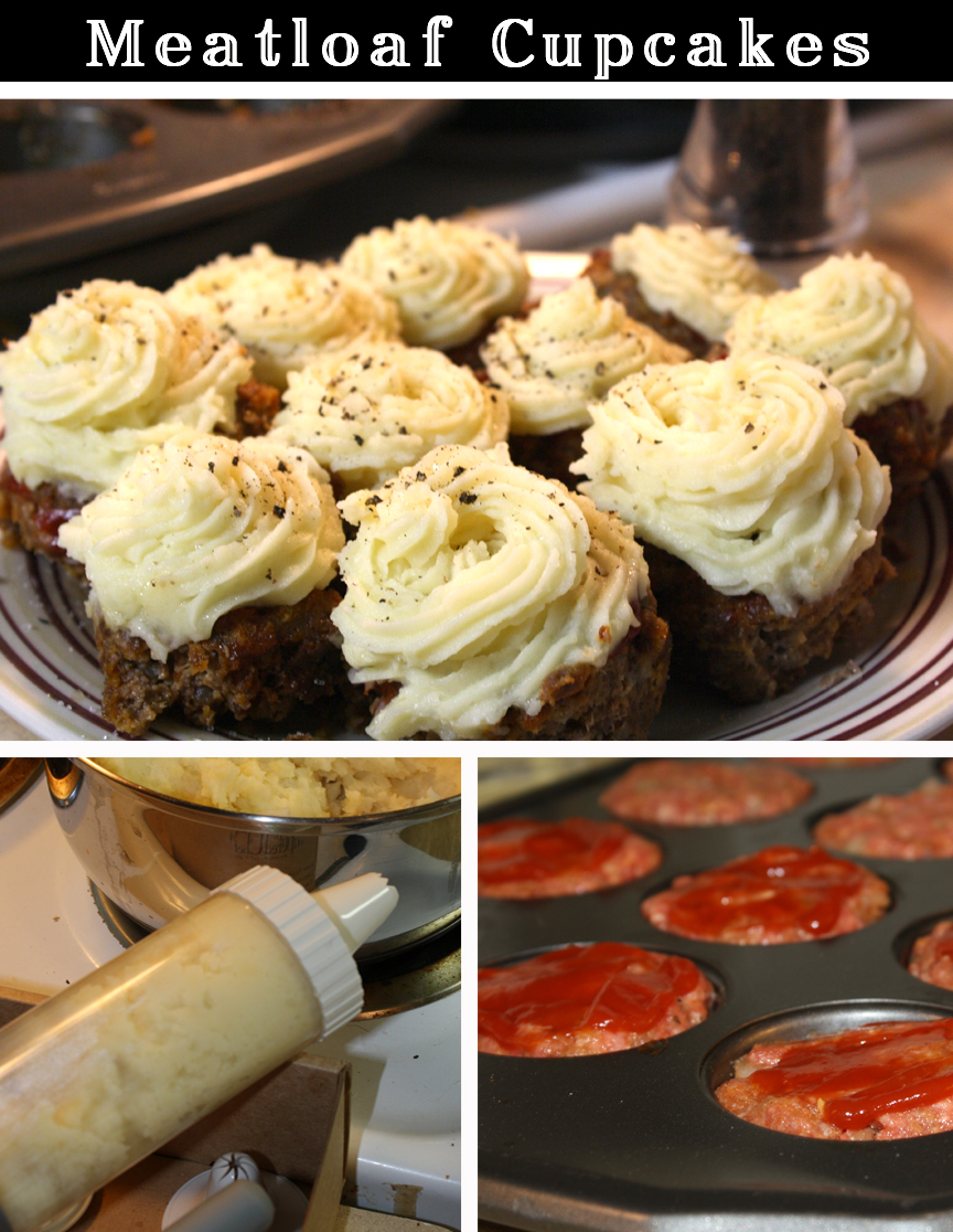 Recipe for Meatloaf Cupcakes