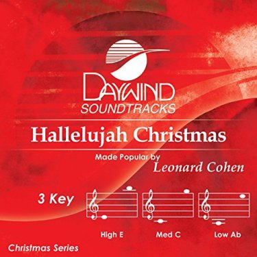 Christmas version of hallelujah by leonard cohen
