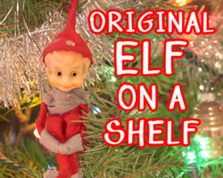 Original Elf on A Shelf Before It Was Popular
