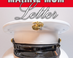 A Marine Mom Letter to the Marine Corps on Their Birthday