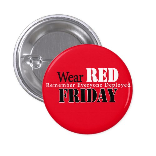Join the RED Friday movement, see how this company honors our military during Military Appreciation Month