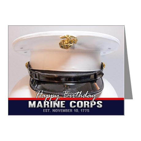 Marine Corps Birthday Card
