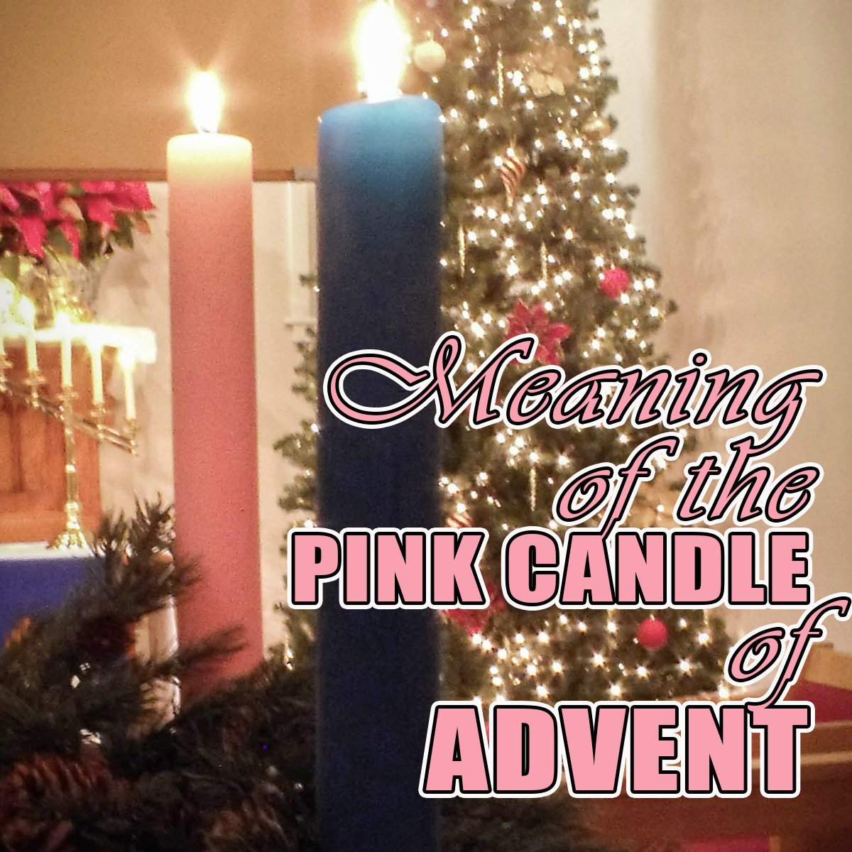 Leaning the meaning of the pink candle of Advent. How do you prepare for Christmas? Follow the daily Advent readings and devotionals.