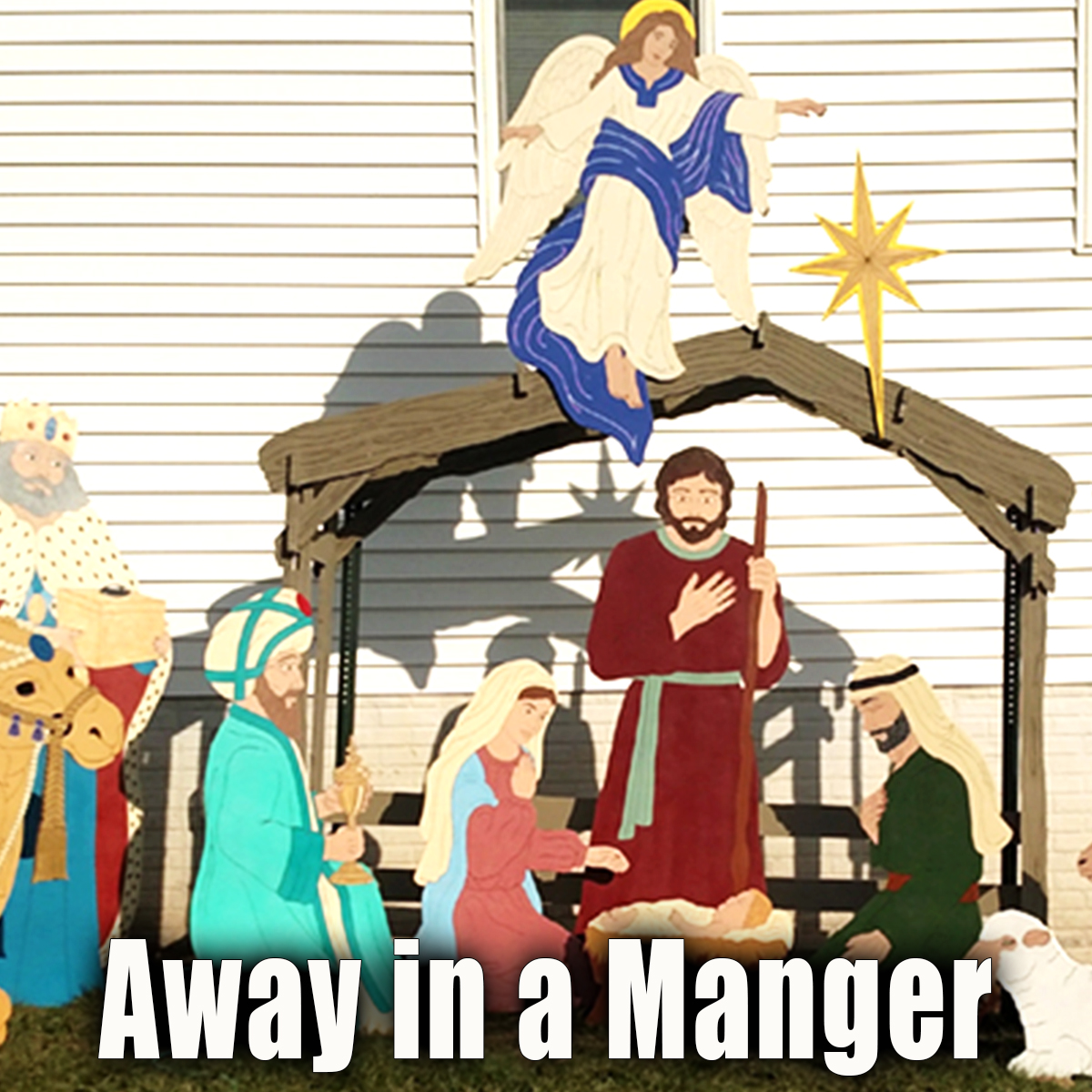 The words to Away in a Manger tell of a humble birth of the Lord Jesus Christ. Find music and sheet Music to one of the most famous Christmas carols.