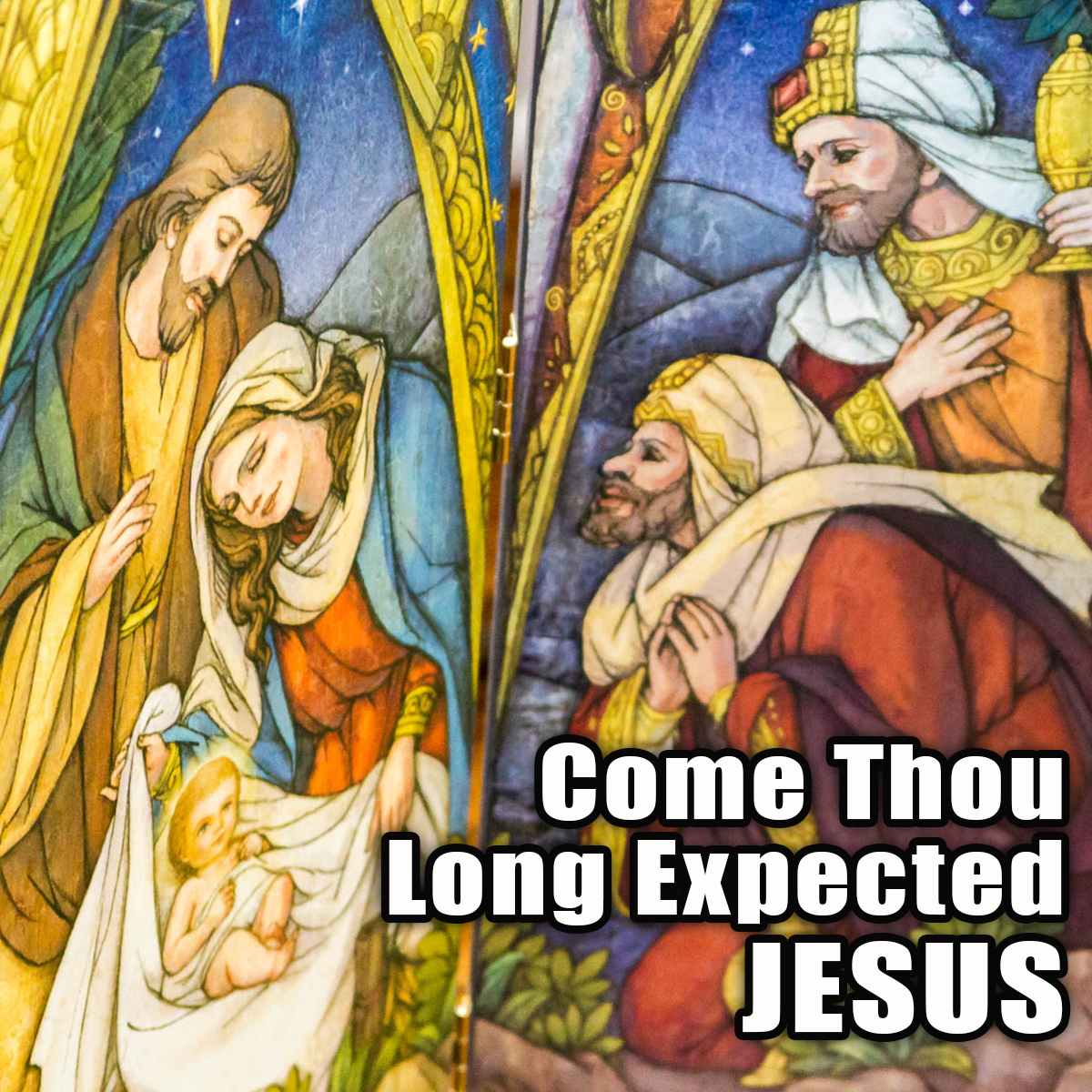 Come Thou Long Expected lyrics, a popular Advent hymn. Find sheeet music and lyrics